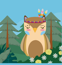 Imprimir cute hippie cartoon vector