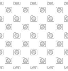 Top secret pattern seamless vector