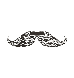 Moustaches2 vector image
