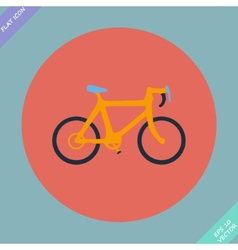 Bicycle icon - vector image vector image
