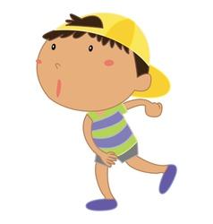 Little kid vector image vector image