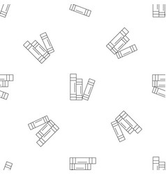 book set pattern seamless vector image