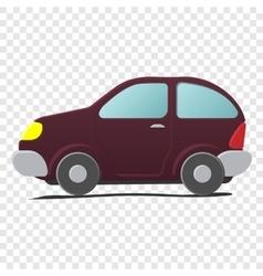 Cartoon little car vector image