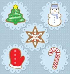 Cookies design vector