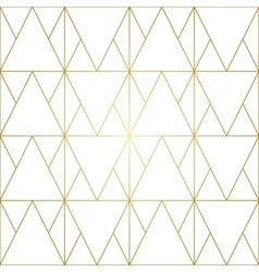 Golden lines geometric seamless pattern vector