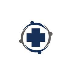 health care community vector image