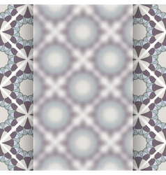 Matt glass over vintage pattern vector image