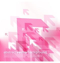 modern arrow background vector image vector image
