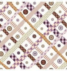 Pink checkered seamless diagonal vector