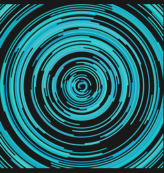 Round abstract background from concentric half vector