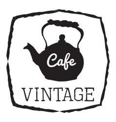 VINTAGE CAFE vector