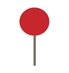 A lollipop vector