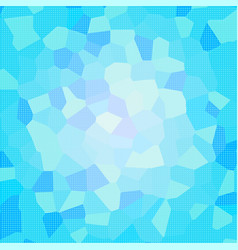 blue mosaic dotted background vector image