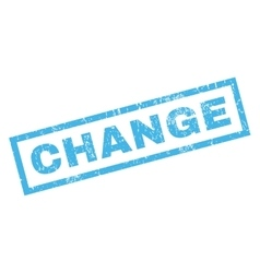 Change Rubber Stamp vector