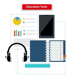 Education Tools vector image
