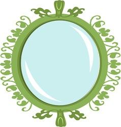 Green mirror vector