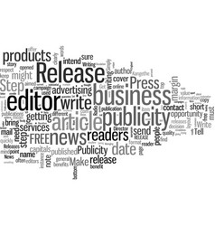 How to get free publicity whenever you want vector
