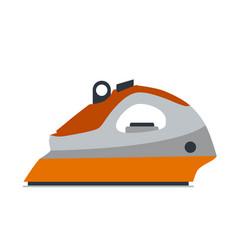 iron steam icon laundry equipment vector image