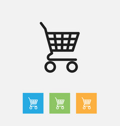 of business symbol on shopping vector image