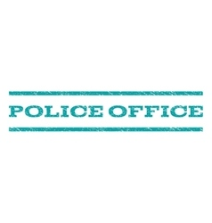Police Office Watermark Stamp vector