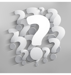 Question mark web icon background vector