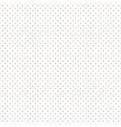 Red Dots White Background vector