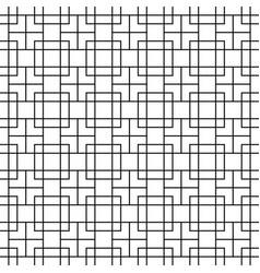 seamless geometric pattern vector image