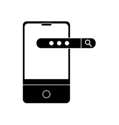 Smartphone and seo design vector