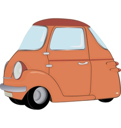 The toy car vector image