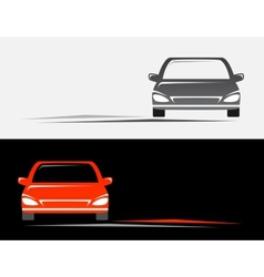 Background with cars vector