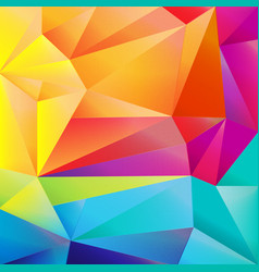 Colorful origami background vector