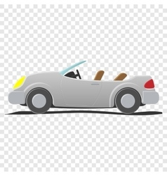 Convertible - cartoon vector image