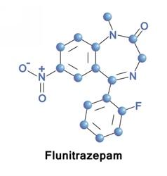Flunitrazepam intermediate benzodiazepine vector
