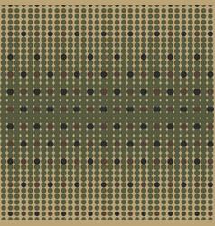 Halftone camo background dots texture retro vector