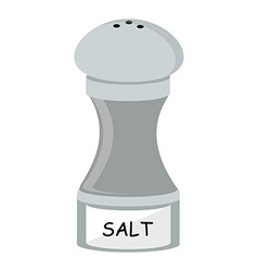 Salt flat icon vector image
