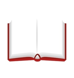 Book notebook open vector