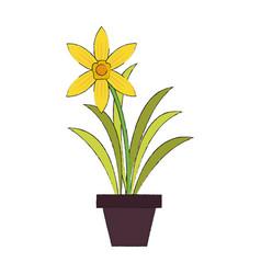 home plant vase vector image