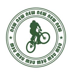 emblem for extreme sports 1 vector image