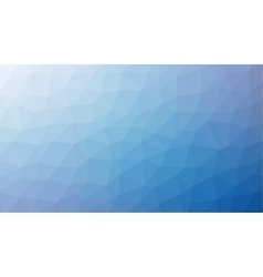 Abstract blue gradient lowploly of many vector