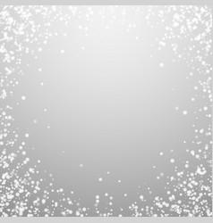 Amazing falling snow christmas background subtle vector