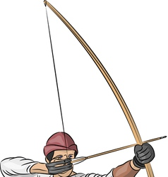 archer b vector image
