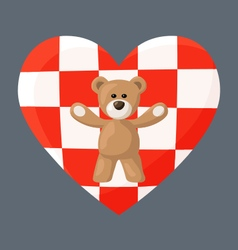 Croatian Teddy Bears vector image