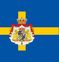 Flag of sweden vector
