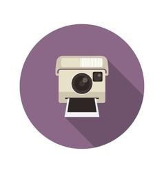 Instant camera vector