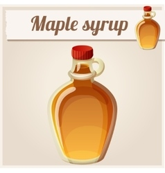 Maple syrup Detailed Icon vector