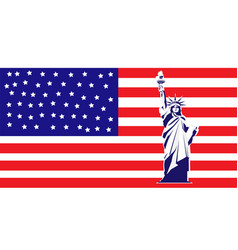New york and american symbol vector