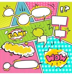 Speech Bubble Banners Set vector image vector image