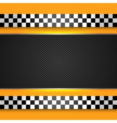 taxi cab blank template vector image