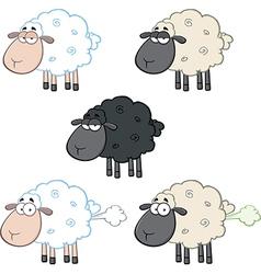 Cartoon sheep design vector