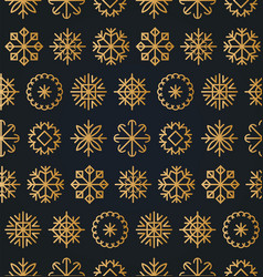 christmas or new year seamless pattern vector image
